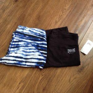 2 pairs of cropped judo leggings